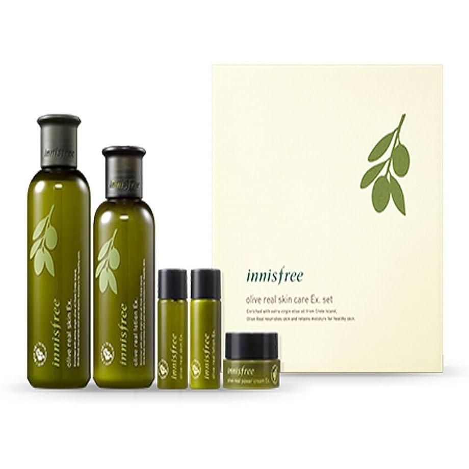 後世精度判読できないイニスフリーオリーブリアルスペシャルケアセット(5アイテム)Innisfree Olive Real Special Care Ex. Set ( 5 Item ) [海外直送品][並行輸入品]