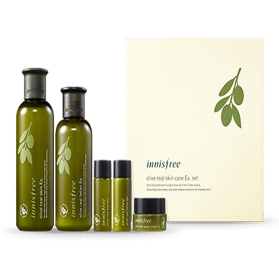 コインバングラデシュ心のこもったイニスフリーオリーブリアルスペシャルケアセット(5アイテム)Innisfree Olive Real Special Care Ex. Set ( 5 Item ) [海外直送品][並行輸入品]