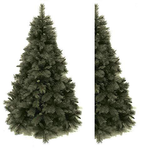 Salone Negozio Online Albero di Natale A Parete ALFALUX CM.180 Rami PVC AD Aghi Base CM.125 Interno/Esterno