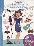 Pegatinas. Las chicas y sus disfraces (PICARONA)