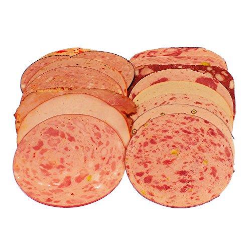 Aufschnittwurst verschieden sortiert 250 g geschnitten