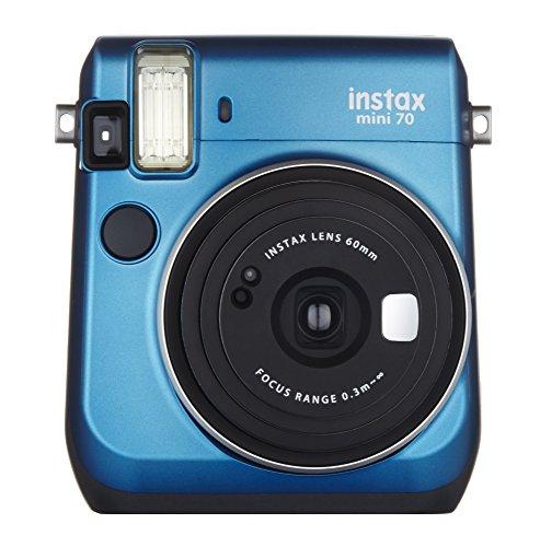 FUJIFILM インスタントカメラ チェキ instax mini 70 ブルー INS MINI 70N BLUE