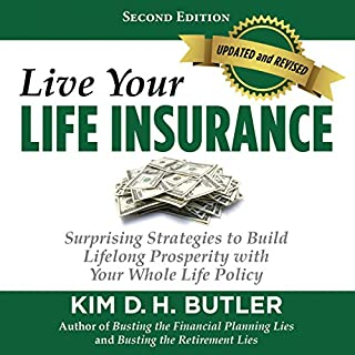 Live Your Life Insurance audiobook cover art
