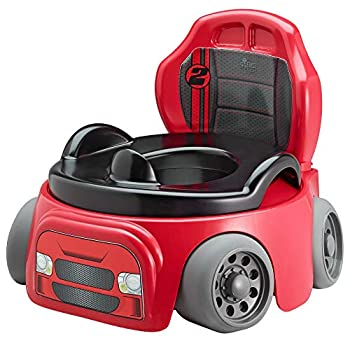 The First Years Training Wheels Racer Potty System   Easy to Clean and Easy to Use Potty Training Seat