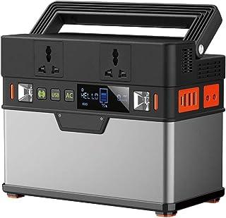GXYNB 185200mAh Generador portátil 666Wh Fuente de alimentación de Emergencia de la Central eléctrica (Pico 1000W) con inversor DC/AC, tecnología PD, Salida inalámbrica, para Acampar