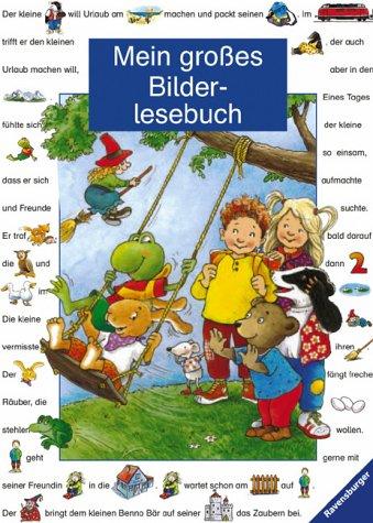 Mein großes Bilderlesebuch (Lesebilderbuch)