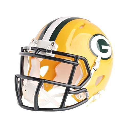 Riddell Mini Football Helm - NFL Speed Green Bay Packers