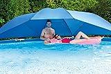 Intex Pool Abdeckung Sonnendach Sonnenschirm für Stahlrahmen Pool Frame Pool 3,66-5,49m Sonnenschutz
