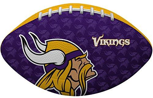 Rawlings NFL Gridiron Junior-Size Youth Football, Minnesota Vikings
