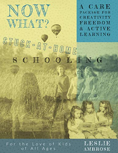 Now What? Stuck-at-Home Schooling: A Care Package for Creativity, Freedom and Active Learning by [Leslie Ambrose, Katherine Ambrose, Diane Epstein, Sonce Landa]