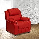 Flash Furniture FurnitureSeatingChairsRecliners, Red Vinyl