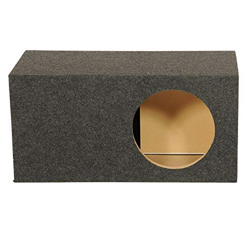 Qpower Single 12 Inch SPL XL Heavy-Duty Side Ported Subwoofer Enclosure HD112VL