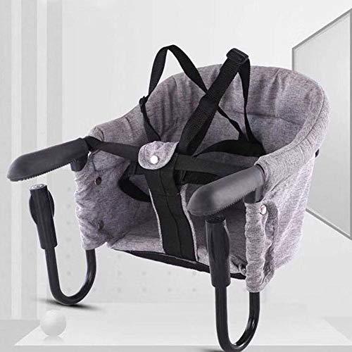StageOnline Asiento para silla de bebé para bebé portátil de verano Pop silla de comedor portátil durable seguro plegable bebé asiento de alimentación