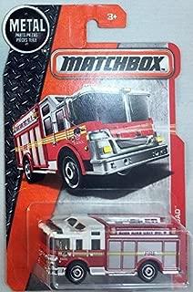 2016 Matchbox FDNY High Rise Unit Hazard Squad Fire Engine