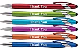 'Thank You' Gift Stylus Pens For All TouchScreen Devices - 2 in 1 Combo Pen for Events, Parties, Employee Appreciation & More (6 Pack)