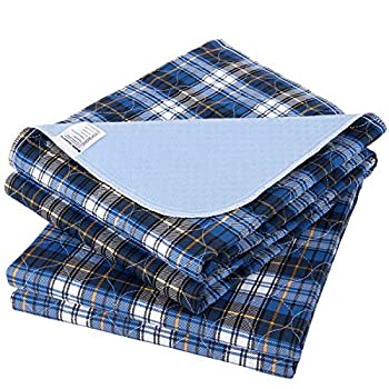 Non-Slip Bed Pads for Incontinence Washable  36  x 52 |2 Pack ,Waterproof Bed Pads,Adult Washable Incontinence Bed Pads for Adults,Dog,Kids