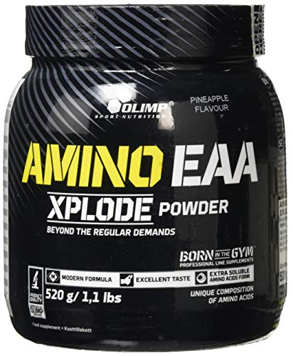 Olimp Amino EAA Xplode Powder Supplement, 520 g, Pineapple
