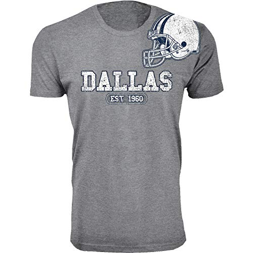 Wishful Inking Dallas Football Est 1960 Classic Arch T-Shirt