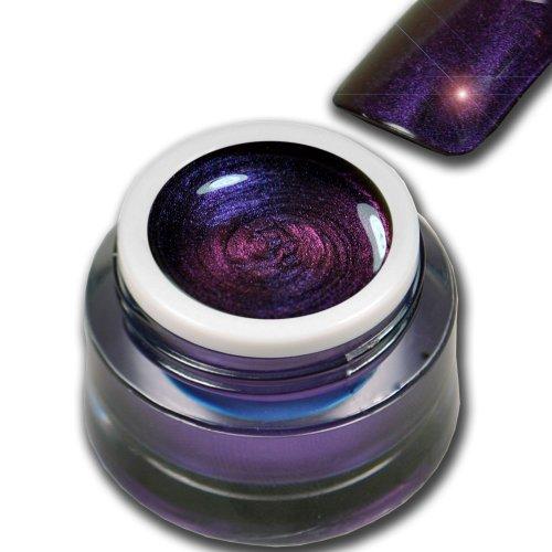 5ml Farbgel Flip-Flop Effekt Lila Blau Violett - Space Premium Colorgel RM Beautynails