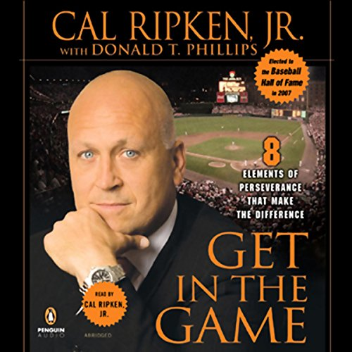 Get in the Game audiobook cover art