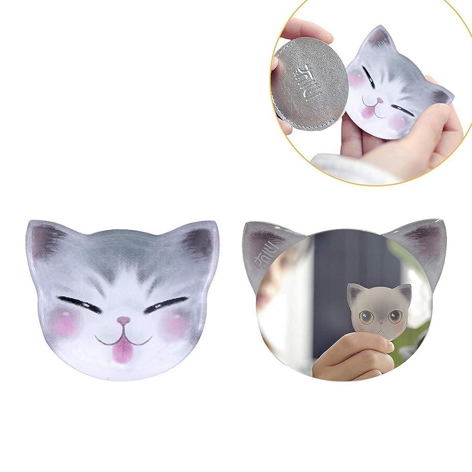 めんどり時系列思われる手鏡 コンパクト iitrust 猫柄 8パタン 収納袋付き 割れない 鏡 おしゃれ コンパクトミラー ハンドミラー かわいい 手鏡 猫 手鏡 かわいい iitrust並行輸入品