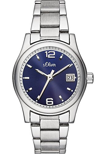 s.Oliver Damen-Armbanduhr SO-3287-MQ