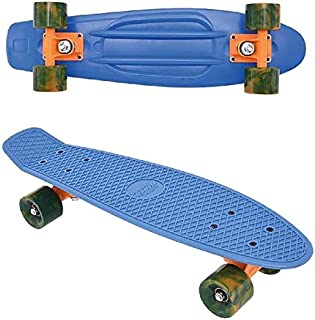 Bleu//Rouge FREEGUN SKFR22BF0 Skateboard Mixte Enfant