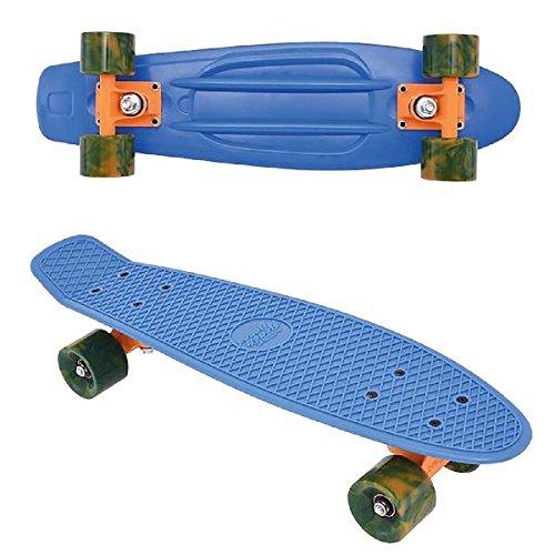 Streetsurfing Beach Board Retro Skateboard, Ocean Breeze Blue, 500214