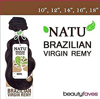 Unprocessed Natu Remy Hair Weave - BRAZILIAN REMY (Bundle Hair) (12