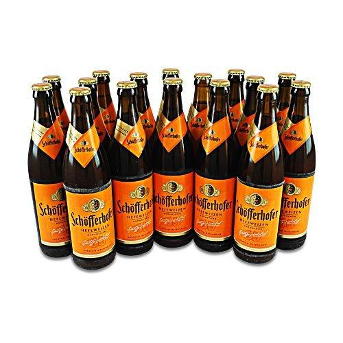 Schöfferhofer Weizen naturtrüb (16 Flaschen à 0,5 l / 5,0% vol.)