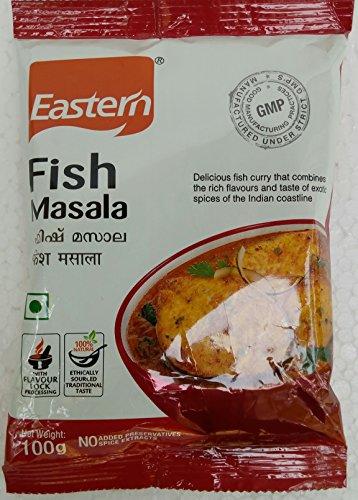 Pesce orientale Masala Polvere 100g/3.5oz 100% naturale