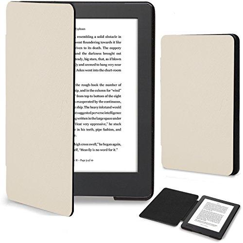 Forefront Cases Coque pour Kobo Aura H2O Edition 2 (2017) Étui Housse Coque Case Cover - Mince Leger & Protection Complète - Smart Auto Reveil Sommeil - Blanc
