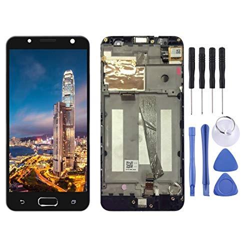 Vervangende LCD-scherm, Mobiele telefoon repareren Onderdelen van Vervangende LCD Touch Screen Flex Kabel en Digitizer Volledige montage met Frame voor Asus ZenFone V Live / V500KL Telefoon (Zwart), Zwart