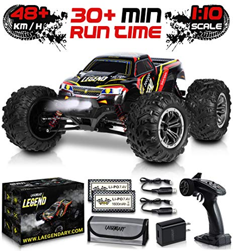 1:10 Scale Large RC Cars 48+ kmh Speed -...