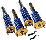 MOSTPLUS Coilovers Struts Compatible for XE10 Lexus IS200/IS300 1999 2000 2001 2002 2003 2004 2005 | 99-05 Toyota Altezza Adjustable Height/Tension Suspensions Kits(Set of 4)