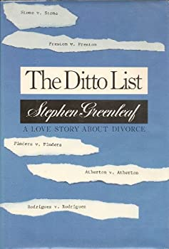 The Ditto List 0345321391 Book Cover