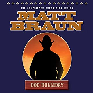 Doc Holliday audiobook cover art