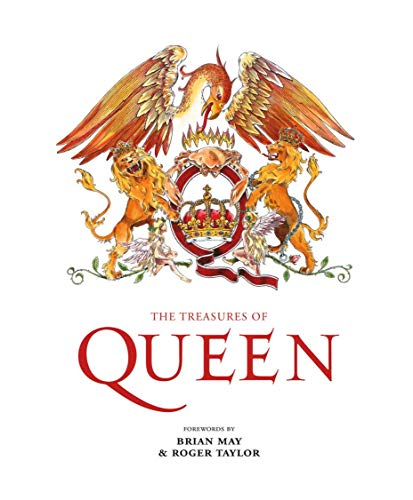 The Treasures of Queen: Authorised history of Queen