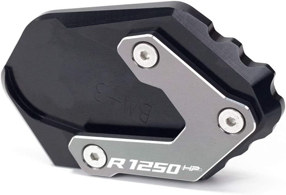 Color : R1250GS 1 Black Motorrad CNC Seitenst/änder Seitenst/änder Verl/ängerungsplatte Pad Motorrad Low Fahrwerk//Fit for BMW R1250GS R 1250GS HP R 1250 GS Adventure