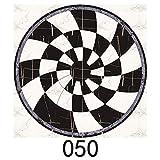 Yubingqin 15 unids/Set 8/10/15/20cm Mármado WaterJet de parquet baldosas Diagonal Pegatina de Pared baño Cocina decoración de Pared azulejo PVC Arte Mural (Color : CZ050, Size : 15cmX15cmX15pcs)