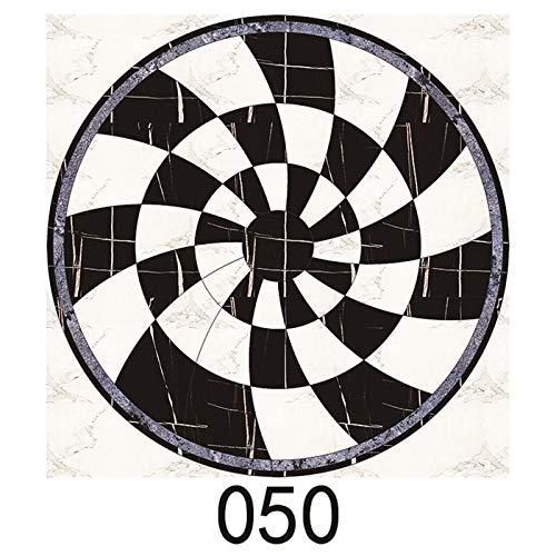 Lianlili 15 unids/Set 8/10/15/20cm Mármado WaterJet de parquet baldosas Diagonal Pegatina de Pared baño Cocina decoración de Pared azulejo PVC Arte Mural (Color : CZ050, Size : 10cmX10cmX15pcs)