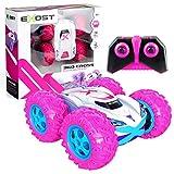 Silverlit- EXOST 360 Cross Rose Voiture télécommandée Tout-Terrain rose-360 Conduite sur 2 Faces-Franchis Les Obstacles Jouet idéal pour Fille-Cadeau Enfant, 20260, NC