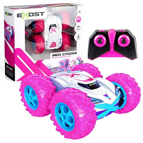 EXOST - 360 Cross Amazone - Ferngesteuertes Auto - 2.4 Ghz Technologie - Action und Spaß - ab 5 Jahren - Maßstab 1:18