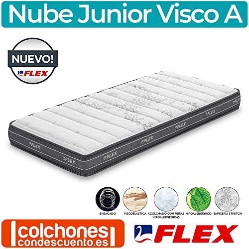 Flex - Colchón Flex Nube Junior Visco A - 90x190cm