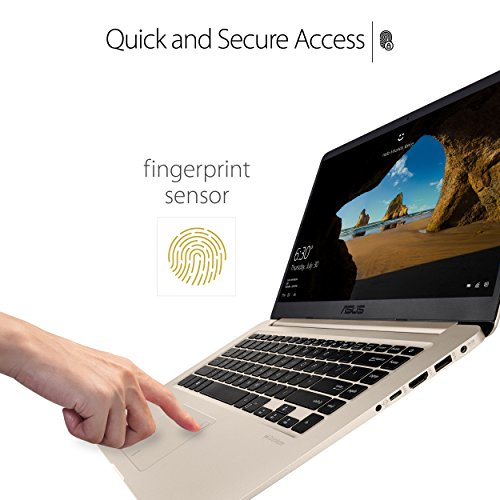 """Product Image 8: ASUS VivoBook S Ultra Thin and Portable Laptop, Intel Core i7-8550U Processor, 8GB DDR4 RAM, 128GB SSD+1TB HDD, 15.6"""" FHD WideView Display, ASUS NanoEdge Bezel, S510UA-DS71"""