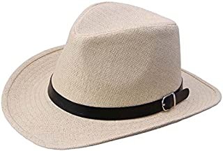 Summer Men Straw Hat Cowboy Hat
