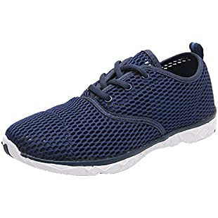 Vaycally Men Outdoor Sport Shoes Breathable Quick-Drying Water Shoes Mesh Hollow Running Shoes Sneakers