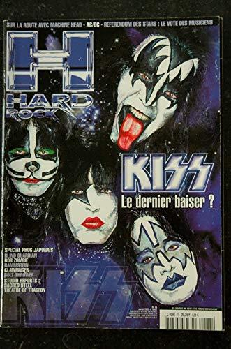 HARD ROCK Magazine 75 JANVIER 2002 COVER KISS AC/DC ROB ZOMBIE CLAWFINGER RAMMSTEIN