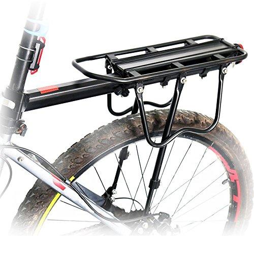 Portapacchi posteriore per bicicletta, freno a...