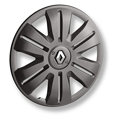 Sichere Radabdeckung FREGATE 15Zoll Graphit mit Renault-Logo